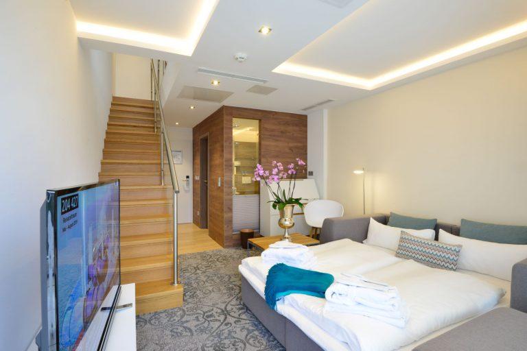 Maisonetten - Doppelbett