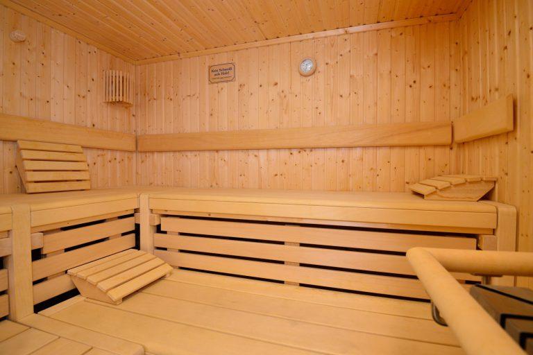 Saunabenutzung von 9.00 bis ca. 20.00 Uhr