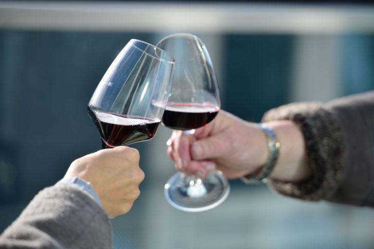 Abend genießen mit Wein